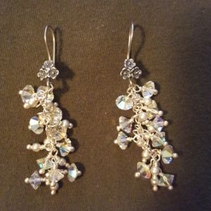 Crystal Earrings - Great for Wedding!